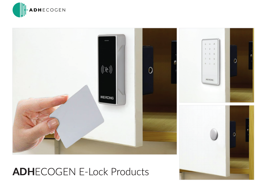 Smart Cabinet E-Locks by ADH Ecogen